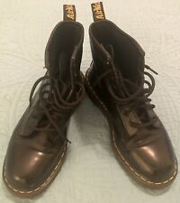 Doc Martens 1460 PASCAL Woman's Leather Boots Black Size 9