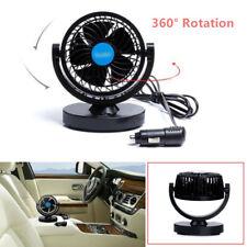 360° Adjustable Car Cooling Air Fan Silent Cooler 2 Speed DC 12V for  Truck Tent