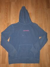 Obey Worldwide Clothing Blue / Pink *Stained* Pull Over Hoodie Size Mens Large