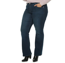 Plus Size Apt. 9® Embellished Mid Rise Bootcut Jeans 18W