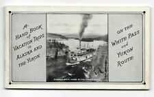 1930s Railroad Brochure ~ VACATION TRIPS ON WHITE PASS AND YUKON ROUTE