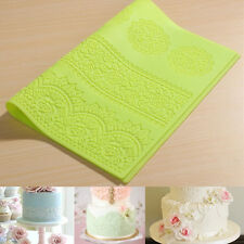 Silicone Lace Flower Mat Embossed Cake Mold Sugarcraft Sugar Molds 2016 New