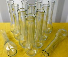 "48 pcs. NEW 9"" SWIRL BUD VASE FREE SHIPPING!"