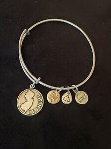 Alex and Ani New Jersey Charm Bangle Bracelet