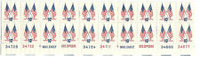 Scott # 1509...10 Cent ..Flags.... Plate Block 0f 20 Stamps