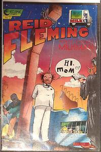 Reid Fleming World's Toughest Milkman #3 VF+ Eclipse Comics