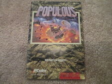 Populous (Super Nintendo SNES) Manual only