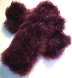 Special Offer!455g Superb Mega Thick,Over the Elbow Hand Knit,90% Wendy Mohair
