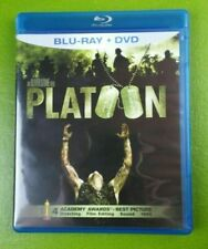 Platoon (Blu-ray/Dvd, 2011, 2-Disc Set) Charlie Sheen Willem Dafoe