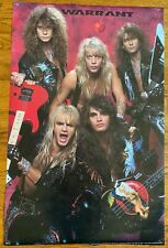 Warrant - Vintage Cherry Pie Poster - 1990 - Jani Lane - Original Band