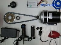36V 600W ELECTRIC MOTORIZED E BIKE TRIKE CONVERSION KIT