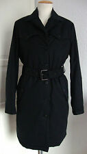 BELSTAFF FUNCTIONAL TRENCH LADY BLACK Damen Mantel Jacke Gr.36 NEU mit ETIKETT