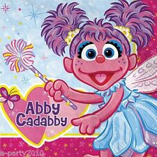 ABBY CADABBY LARGE NAPKINS (16) ~ Birthday Party Supplies Dinner Luncheon PBS
