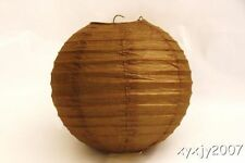 """10 Brown Chinese  Paper Lanterns 8"""" For Wedding or Party"""