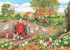The House Of Puzzles - 500 BIG PIECE JIGSAW PUZZLE - Red Harrows Big Pieces
