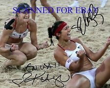 KERRI WALSH AND MISTY MAY TREANOR SIGNED AUTOGRAPHED 8x10 RP PHOTO OLYMPICS