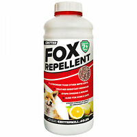 FOX REPELLENT DETERRENT REPELLER HUMANE OUTDOOR GARDEN - PROFESSIONAL STRENGTH