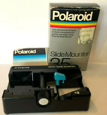 Vintage Polaroid 35mm Slide Mounter w/ original box & instructions
