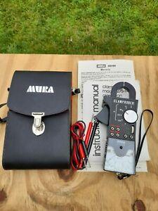 Vintage MURA CLAMPROBER 275-M AC Clamp-On Ammeter VOM w/probes & case EXCELLENT