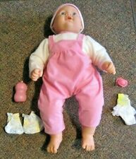 """Cititoy 23"""" Baby Doll Blue Eyes with Clothing & Accessories."""