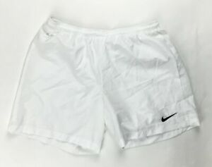 Nike Dri-FIT Laser Woven III Soccer Futbol Short Women's Large White 725952-100