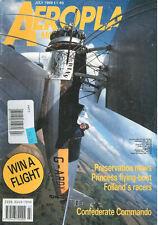AEROPLANE 7/89 SAUNDERS-ROE PRINCESS_C-46 COMMANDO_ WW1 HP 0/400 V/1500_ SUPERWA