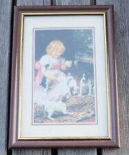 Vintage Fotorahmen Bilderrahmen Holzrahmen Rahmen Holz braun-gold 10 x 15 cm