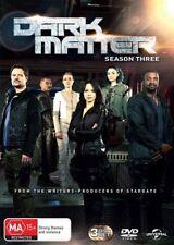 Dark Matter : Season 3 (DVD, 2017, 3-Disc Set)