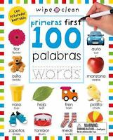 Wipe Clean: First 100 Words Bilingual (Spanish/English)WC: First 100 Words Bilin