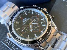 Paulareis Sea master Homage Sport Mechanical Automatic 46mm Watch 🇬🇧 box