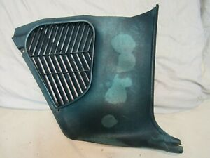 1965 PLYMOUTH FURY PASSENGER SIDE KICK PANEL with INSULATION Part# 2492672