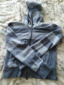 Gap Womens Grey Striped Hoodie  Size XS / TP