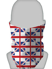 ST GEORGE UNION JACK DESIGN NECK WARMER FACE MASK SCARF SNOOD L&S PRINTS