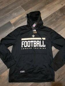 New Orleans Saints New Era Hoodie Sweatshirt Size Men's 2XL nwt Free Ship