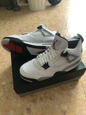 Nike Air Jordan 4 Retro OG US 9.5 White Cement