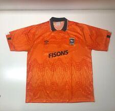 Maglia Calcio Ipswich Town Third Shirt 1989/92 Size L Umbro Fisons England