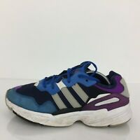 Adidas Originals Yung-96 Blue Textile Trainer Sneaker DB2606 Size UK 9 Eur 43