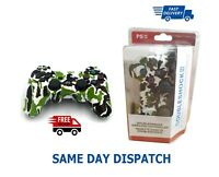 Wireless Camouflage Green Colour Controller For Sony PlayStation Dualshock 3 PS3