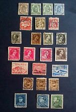 Belgium Stamps - overprint surcharge