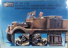 "Hobby Fan 1/35 Sd.kfz 11 3ton Half-track ""Engine, Fuel tank and 7.5cm ammo compa"
