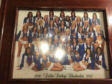 "Official 2006-2007 Dallas Cowboys Cheerleaders Framed Photo (14-5/8"" x 12"")"