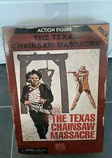 NECA Texas Chainsaw Massacre Leatherface figura el Nuevo Sellado sin usar y en caja sellada Arcade Verde