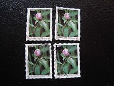 COTE D IVOIRE - timbre yvert/tellier n° 759 x4 obl (A28) stamp (E)