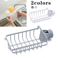 Kitchen Sink Faucet Sponge Soap Cloth Drain Rack Holder Racks Storage Organizer