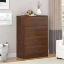 4 Drawer Dresser Chest Organizer Furniture Bedroom Kids Nightstand White Black