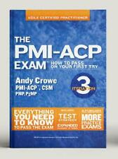 The PMI-ACP Exam by Andy Crowe (author)