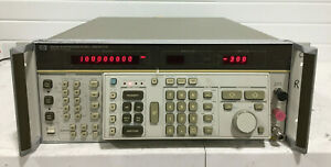 HP 8662A Synthesized Signal Generator, 10kHz-1280MHz Opt 003  unit # 1