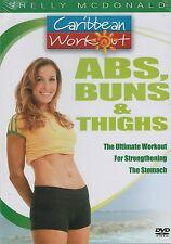 Caribbean Workout: Pilates, Yoga, & Abs, Buns, & Thighs DVD's (4 Disc Set)