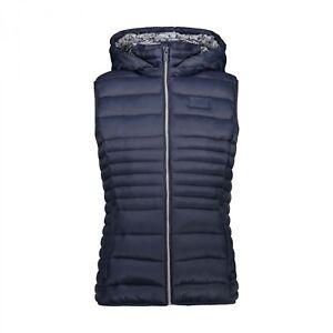 CMP Damen Weste Woman Vest Snaps Hood 30K3846