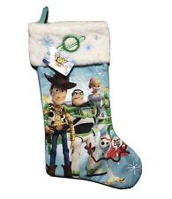 Disney Pixar Toy Story 4 Christmas Stocking Forky Buzz Woody Bo Beep